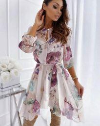 Šaty - kód 2738 - viacfarebné