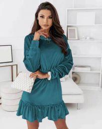 Šaty - kód 0424 - tyrkysová