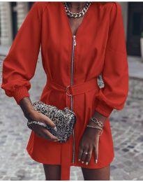 Šaty - kód 820 - červená