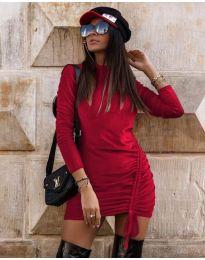 Šaty - kód 9545 - bordeaux