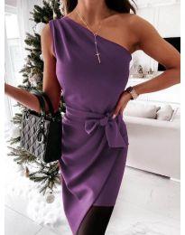 Šaty - kód 6442 - 4 - fialová