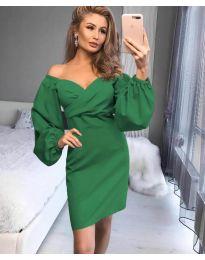 Šaty - kód 6761 - zelená