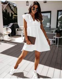 Šaty - kód 2093 - biela