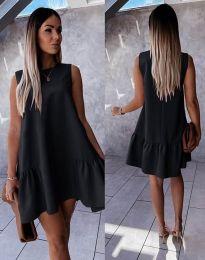 Šaty - kód 3456 - čierná