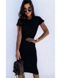 Šaty - kód 682 - čierná