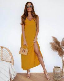 Šaty - kód 11881 - hořčičná