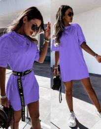 Šaty - kód 8809 - fialová