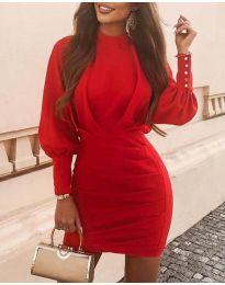 Šaty - kód 4016 - červená