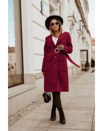Kabát - kód 5657 - bordeaux