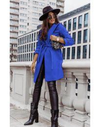 Kabát - kód 3839 - modrá