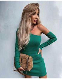 Šaty - kód 4933 - zelená