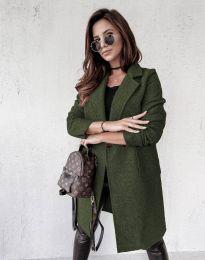 Kabát - kód 0964 - zelená