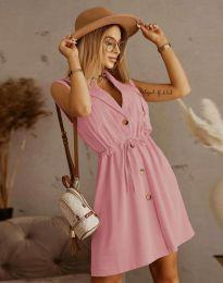 Šaty - kód 2702 - pudrová