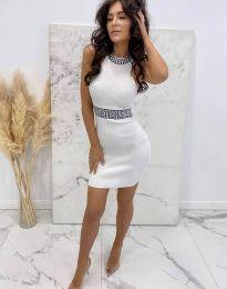 Šaty - kód 2593 - biela