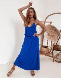 Šaty - kód 11993 - modrá