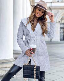 Kabát - kód 4973 - šedá