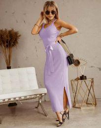 Šaty - kód 6166 - svetlo fialová