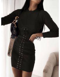 Šaty - kód 4453 - 4 - čierná