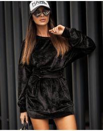 Šaty - kód 8989 - čierná