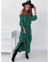 Šaty - kód 1317 - olivová  zelená