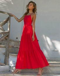 Šaty - kód 2991 - červená