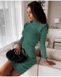 Šaty - kód 8484 - tyrkysová
