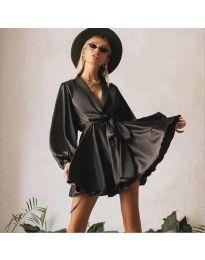 Šaty - kód 2428 - čierná