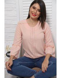 Blúza - kód 0629 - 4 - ružová