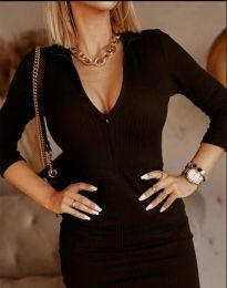 Šaty - kód 11643 - čierná