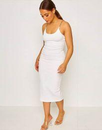 Šaty - kód 2580 - biela