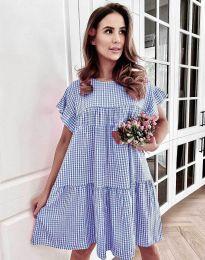 Šaty - kód 6111 - modrá