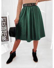 Sukňa - kód 6767 - tmavě zelená
