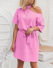 Šaty - kód 5848 - 4 - ružová