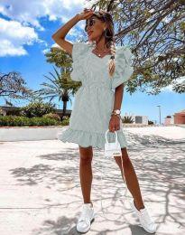 Šaty - kód 2657 - 4 - svetlozelená