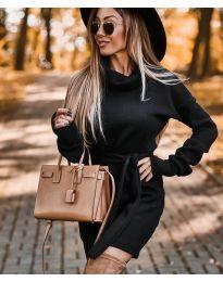 Šaty - kód 8400 - čierná