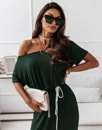 Šaty - kód 11973 - olivovo zelená