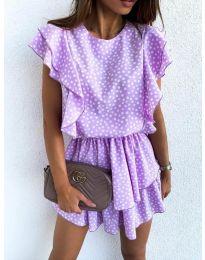 Šaty - kód 7740 - fialová