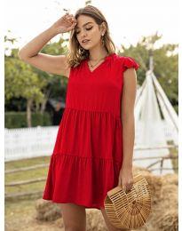 Šaty - kód 696 - červená