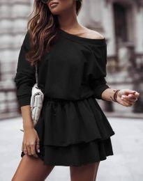 Šaty - kód 0525 - čierná