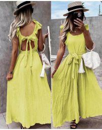 Šaty - kód 4806 - žltá