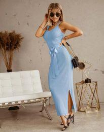 Šaty - kód 6166 - svetlo modrá
