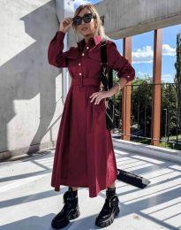 Šaty - kód 1467 - bordeaux
