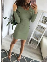 Šaty - kód 3298 - zelená