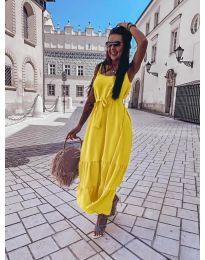 Šaty - kód 1230 - žltá
