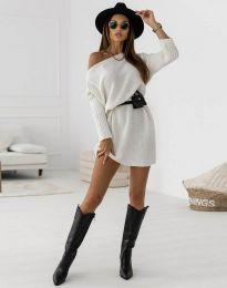 Šaty - kód 6940 - biela