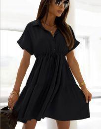 Šaty - kód 6292 - čierná
