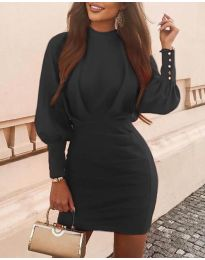 Šaty - kód 4016 - čierná