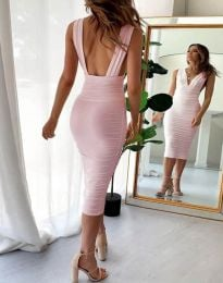 Šaty - kód 1389 - 1 - ružová