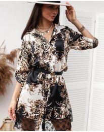 Šaty - kód 3635 - 1 - viacfarebné