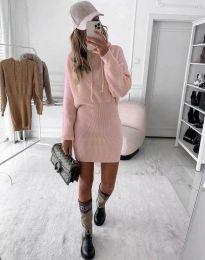 Šaty - kód 0235 - pudrová